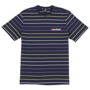Lock Up Stripe T-Shirt