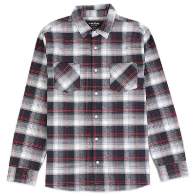 Descending Long Sleeve Flannel