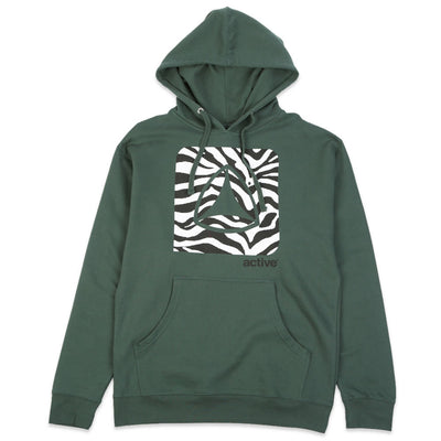 Icon Fill Logo Hoodie Forest