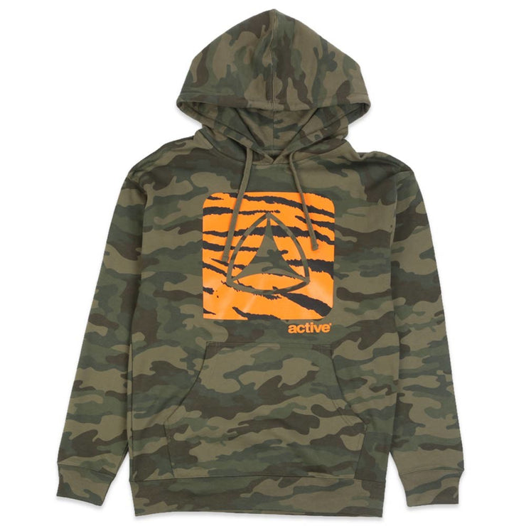 Icon Fill Logo Hoodie Camo