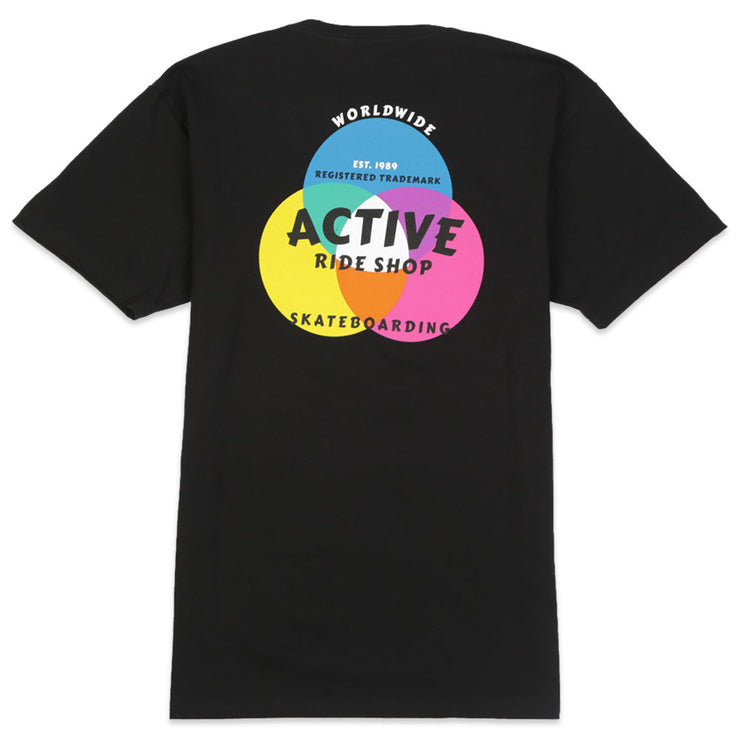 Cmyk Color Short Sleeve Tee