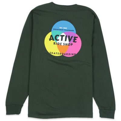 Cmyk Color Long Sleeve Tee