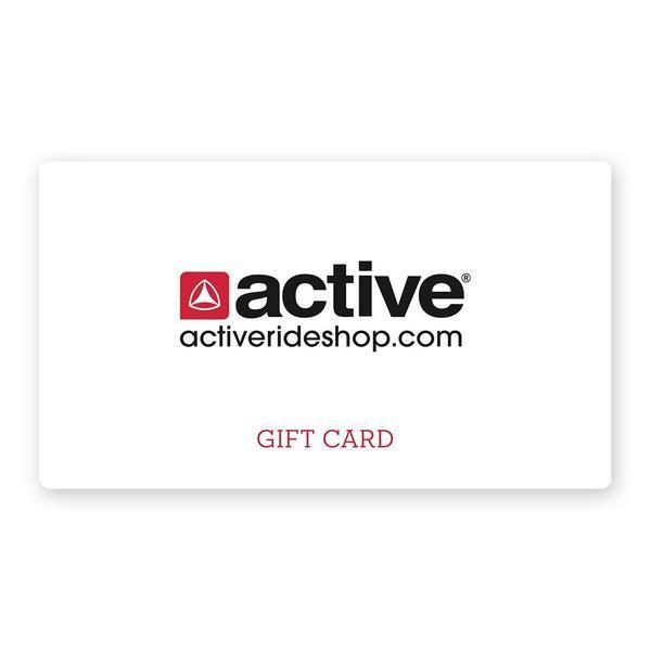 Active Ride Shop Gift Card for guys and girls