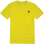 EM x SC Logo Drop T-Shirt - Yellow
