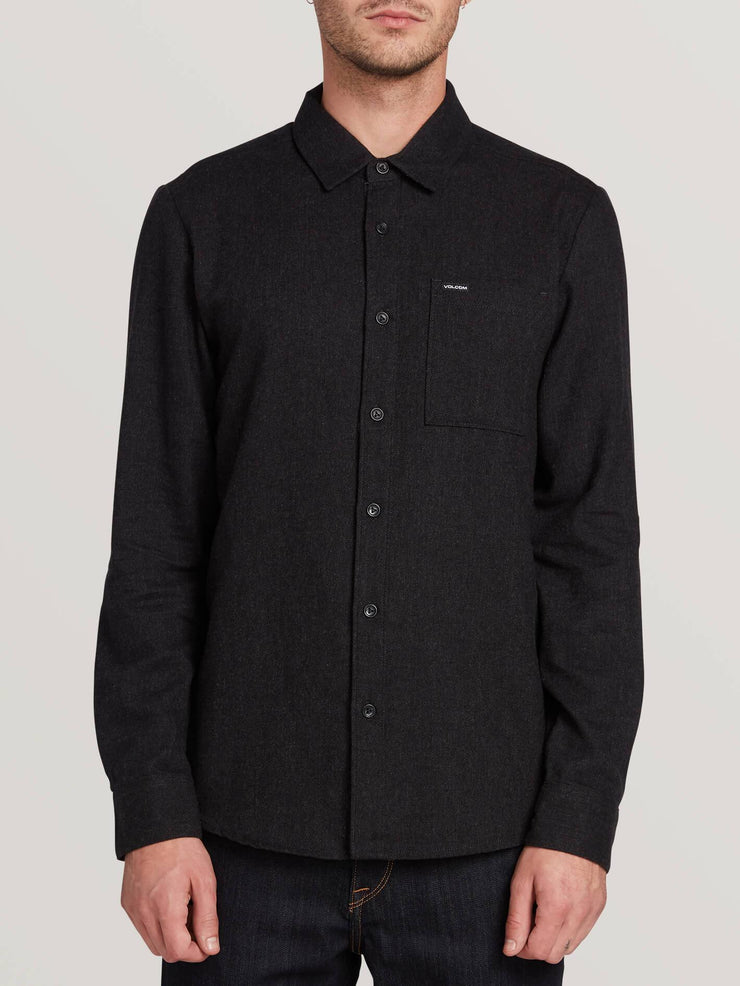Caden Solid Long Sleeve - Black