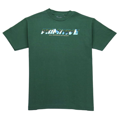 All Terrian T-Shirt - Forest Green