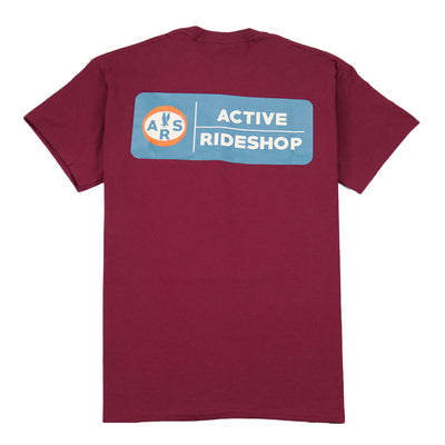 Aviator T-Shirt - Burgundy
