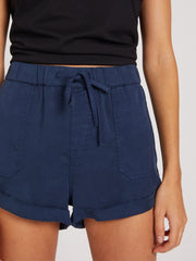 Sunday Strut Short - Dark Navy