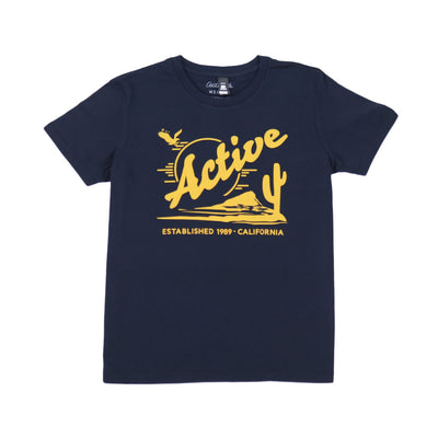 Womens Baker Short Sleeve T-Shirt - Navy