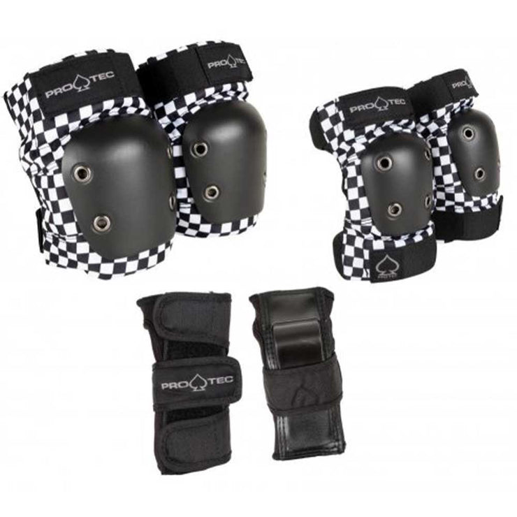 Junior Street Gear 3-Pack Set - Black Checker
