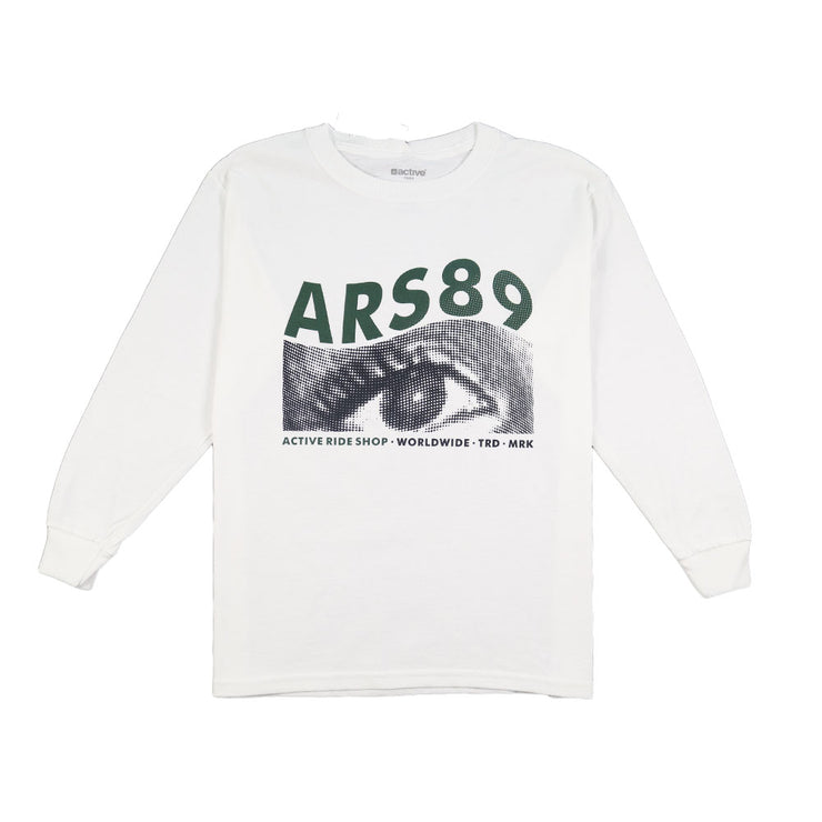 Blurr Youth Long Sleeve - White