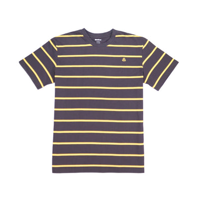 Bert Stripe - Dark Grey/Gold