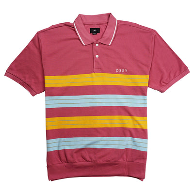 Casa Polo Short Sleeve Cassis
