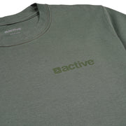 Active Basic Tee - Military Green