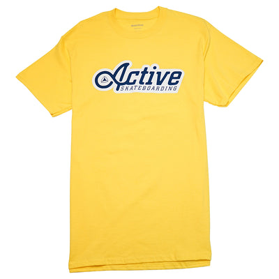 Skateway T-Shirt - Yellow