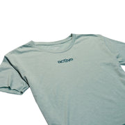 Lock Up Crop T-Shirt - Blue