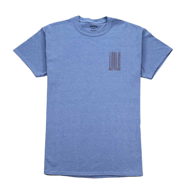 Fading Tee - Heather Indigo