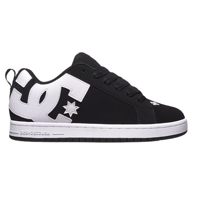 Court Graffik Shoe - Black/White