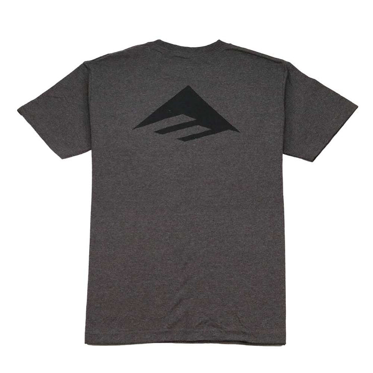 Pure Triangle Pocket T-Shirt - Charcoal Heather