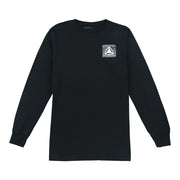 Box Icon Bandana LS T-Shirt - Black