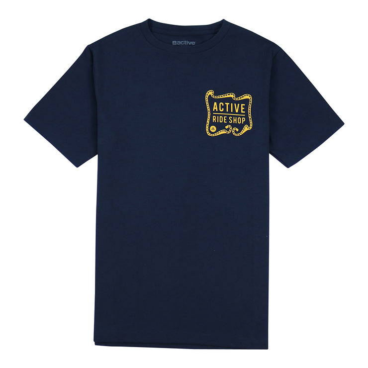 Ironworks Youth Tee - Navy