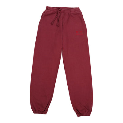 S-Hill Sweatpant - Burgandy