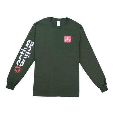 Ole Long Sleeve T-Shirt - Forest Green
