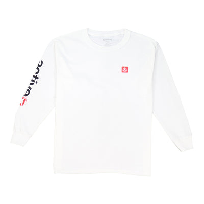 Ole Long Sleeve Youth T-Shirt - White