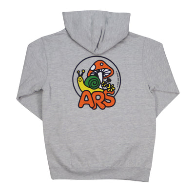 Garden Youth Hoodie - Grey Heather