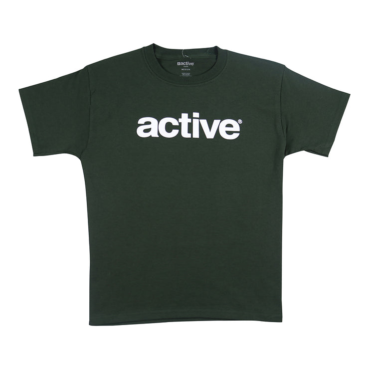 Lockup Youth T-Shirt - Forest Green