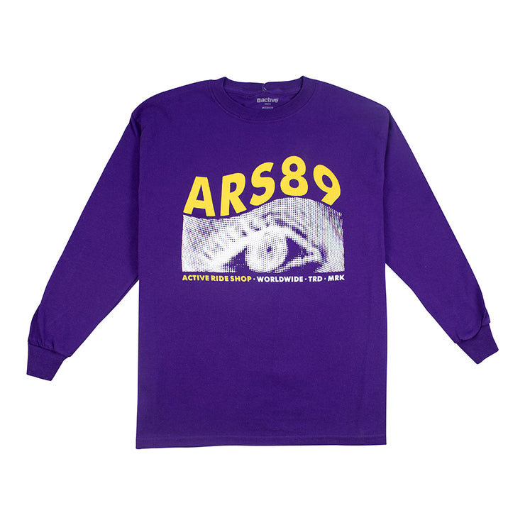 Blurr Youth Long Sleeve - Purple