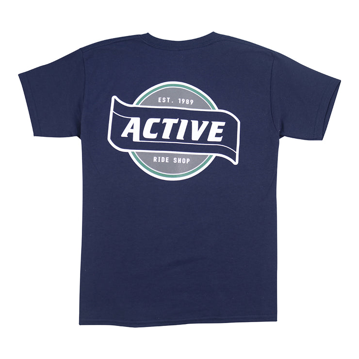 Flagship Youth T-Shirt - Navy
