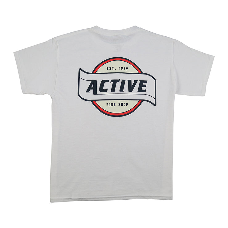 Flagship Youth T-Shirt - White