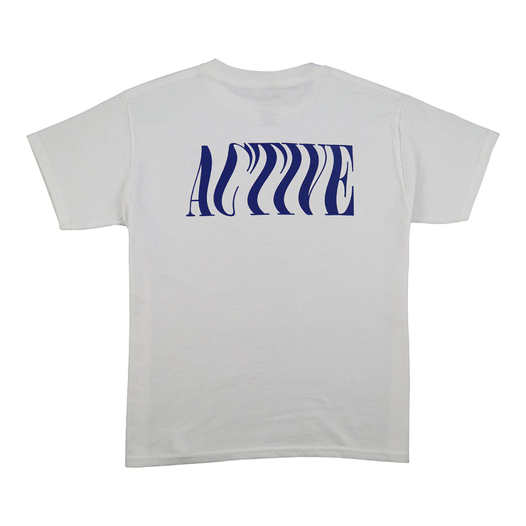 Wavy Youth T-Shirt - White