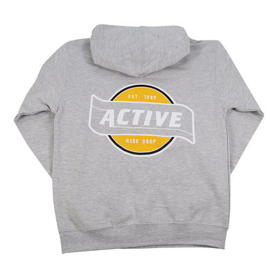 Flagship Youth Hoodie - Heather Grey