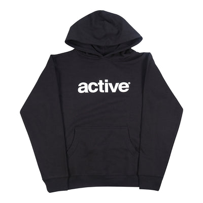 Lockup Youth Hoodie - Black
