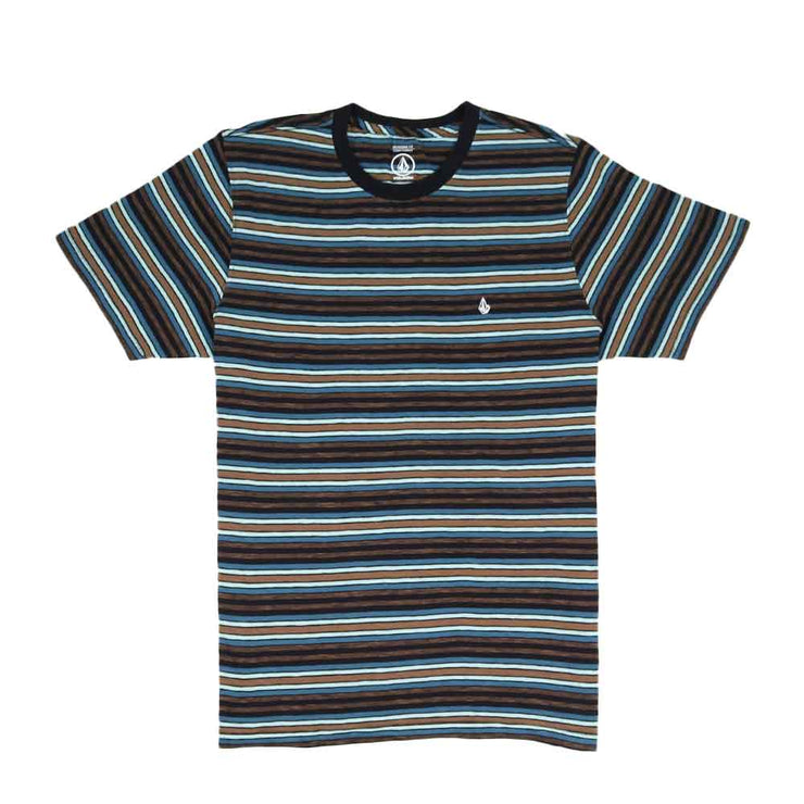 Moorley Crew  Short Sleeve - Navy