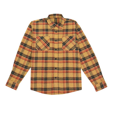 Button Down Flannel Shirt - Citrus