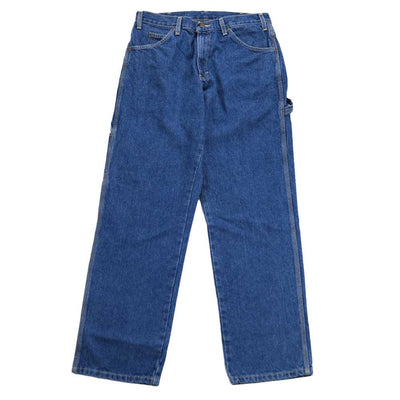 Relaxed Fit Carpenter Jean - Stone Wash Indigo
