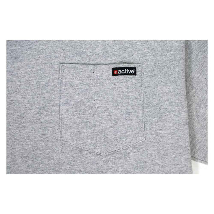 Everyday Pocket T-Shirt - Heather Grey