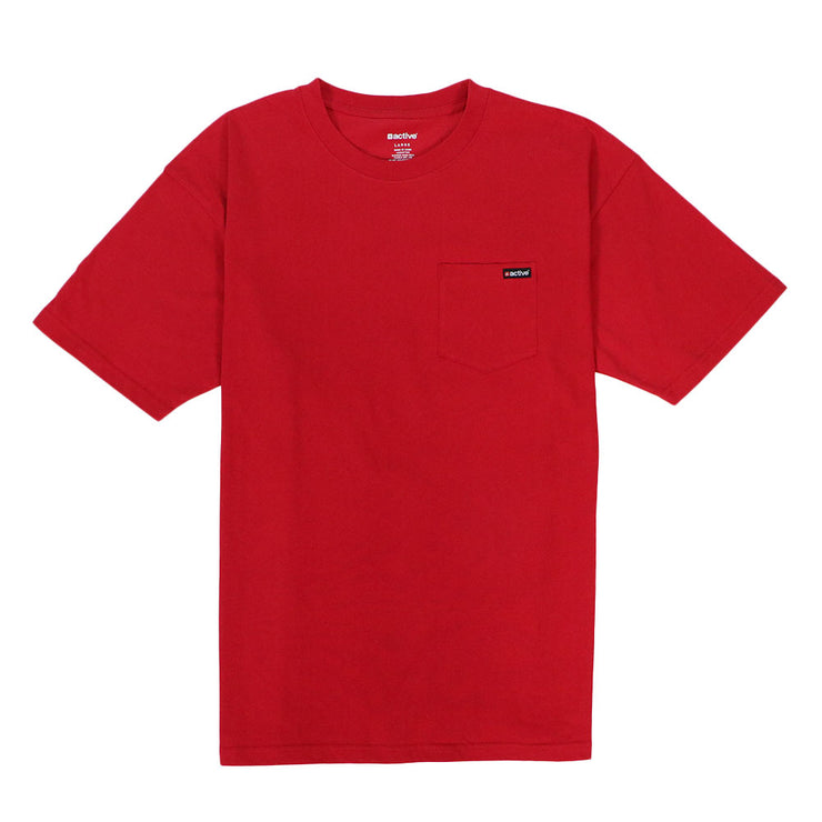 Active Pocket T-Shirt - Tangerine