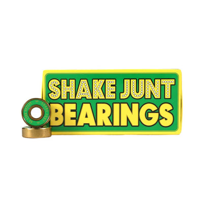SJ Abec 7 Bearings - Yellow