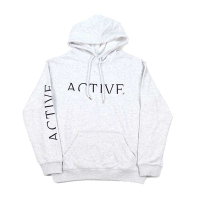 Womens Short Cut Hooded Sweatshirt - White Heat