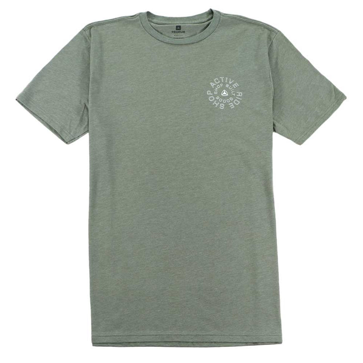 Spiral T-Shirt - Military Heather