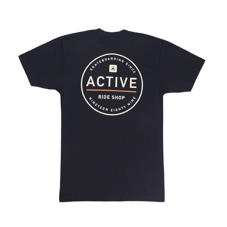 Stamp Youth T-Shirt - Black
