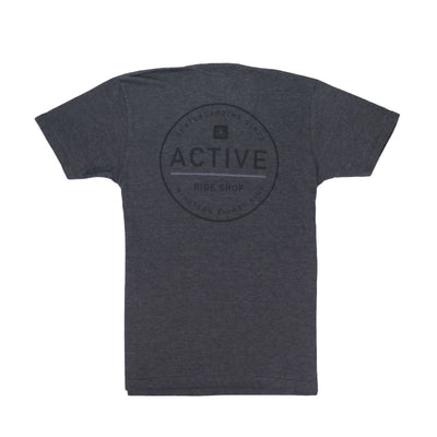 Stamp T-Shirt - Charcoal Heather