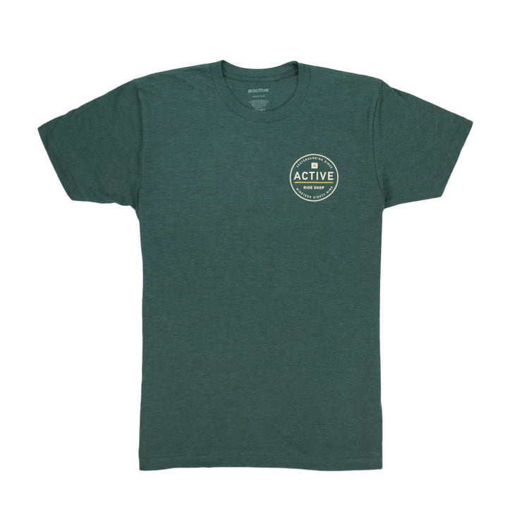 Stamp T-Shirt - Green Heather