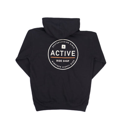 Stamp Youth Hoodie Black