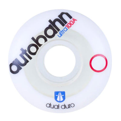 Dual Duro Ulta Wheel 54mm - White