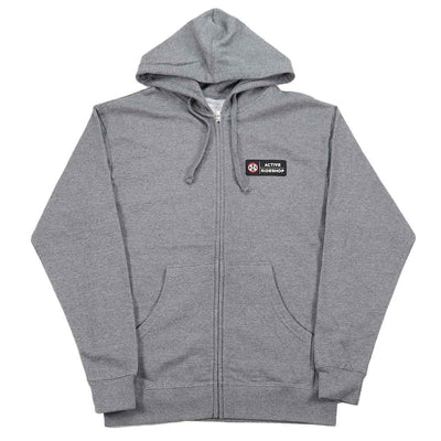 Aviator Zip Hoodie - Gunmetal Heather